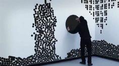 Interactive wall bu Büro Achter April #wow