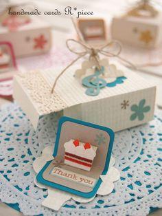 ケーキBOXメッセージ