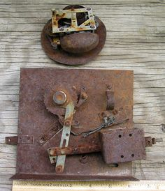 Rusty Electrical Parts  Industrial Salvage by HighDesertRust, $7.00 #assemblage #rusty #supplies #industrialsalvage #salvage #crafting