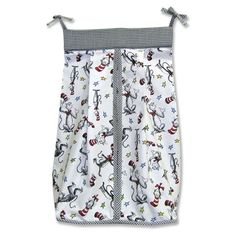 Trend Lab Dr. Seuss The Cat in the Hat Diaper Stacker - 30037