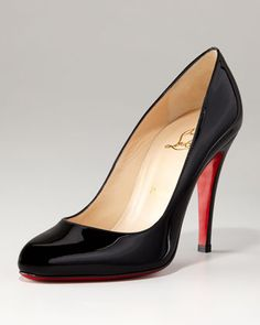 I have these 😍❤😁Christian Louboutin Decolette Patent Pump - Neiman Marcus