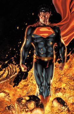 Superman by Shane Davis and Sandra Hope