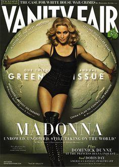 cover design   Vanity Fair #magazine / Madonna
