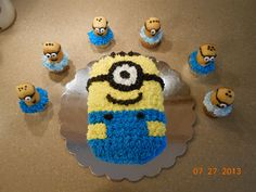 Despicable Me Cake Ideas | pin despicable me sheet cake with minions beth anns on
