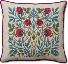 WILLIAM MORRIS EMBROIDERY KIT   Handmade Embroidery Designs