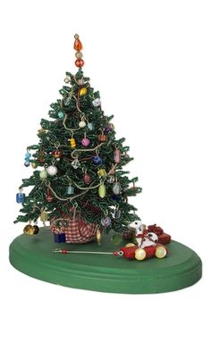 Christmas Tree with Seed Beads and Celestial Crystal Beads - Fire Mountain Gems and Beads