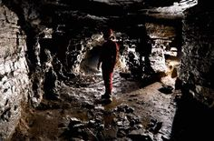 The Secret Montreal Cave You Can Visit. During the 1837 Rebellion, the cave was used to store weapons as well as a hiding place for Patriot soldiers. Montreal Travel, Montreal Canada, Hiding Places, Places To Visit, Secret Places, The Secret, Explore, Canning, Saint