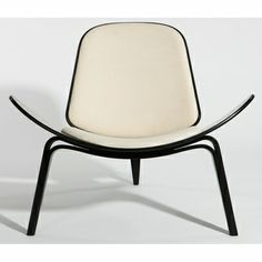 Wegner Style Shell Chair - Click to enlarge