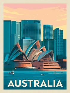 Photo Wall Collage, Picture Wall, Poster Retro, Sydney Skyline, Plakat Design, Vintage Travel Posters, Vintage Ski, Belle Photo, Aesthetic Pictures