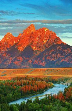 Estados Unidos, Grand Teton National Park.