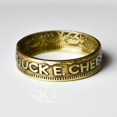 Chuck E Cheese Coin Ring