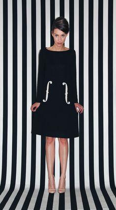 Man Ray - trapeze jurk - Little Black Dress - Michael Barnaart van Bergen