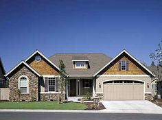 Ideal for Empty Nesters or First-time Buyers - 6929AM | Craftsman, Northwest, Photo Gallery, 1st Floor Master Suite, CAD Available, Den-Office-Library-Study, PDF | Architectural Designs