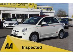 FIAT 500C Convertible 1.2 Pop 2dr #used #fiat #500 #essex #london