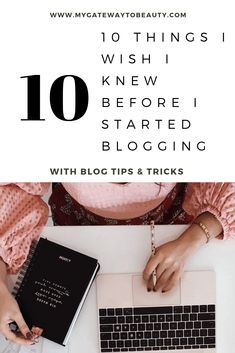 Thinking about starting a blog? Blogging can be fun, exciting, scary, nerve wrecking and most importantly annoying all at the same time. Click the image to read about blogging tips perfect for beginners. You don't want to miss this! #blogging #bloggingtips #bloggingforbeginners #blogginggetstarted #tips #forbeginners #getstarted