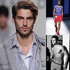 Antonio Navas, el nuevo modelo masculino que arrasa y completa el trio Kortajarena-Elcacho-Velencoso