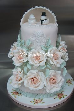Charity cake - by Maja Brookes @ CakesDecor.com - cake decorating website