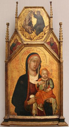Lippo memmi (bottega), madonna col bambino, 1340-50 ca.JPG