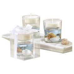 "Kate Aspen ""Seashells"" Seashell Tea Light Holder (Set of 10)"