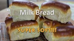 Learn in 2 min how to bake a delicious super soft bread! Ingredients: 550 g Bread Flour 90 g Sugar 50 g Milk Powder 20 g Dry Yeast 7 g Salt 50 g Butter 300 m...