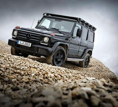 Front view of the Mercedes-Benz G 350 d Professional.
