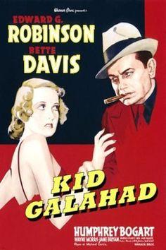 KID GALAHAD vintage movie poster BETTE DAVIS edward g. robinson 24X36 DRAMA
