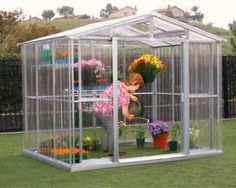 DuraMax Model 80111 8x6 Stronglasting Polycarbonate Greenhouse * You can get additional details at the image link.