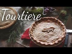 -French Canadian- This traditional Québecois meat pie called tourtière combines ground pork and beef, mashed potatoes, and spices. --Video also included-- Pie Recipes, Cooking Recipes, Dinner Recipes, Traditional Christmas Food, Canadian Christmas, Kitchen Vignettes, Pbs Food, French Food, Christmas Baking