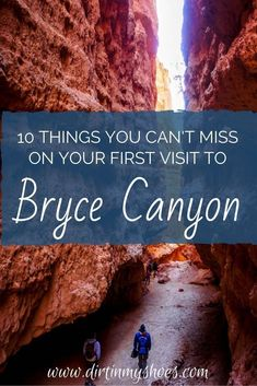 Experience the amazing hikes and viewpoints of Bryce Canyon National Park with this list of things you can't miss -- written by a former park ranger!