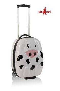 6e5d99766 Maleta Vaca para bebés |MALETAS INFANTILES Maletas De Viaje Infantiles, Viajes  Para Niños,