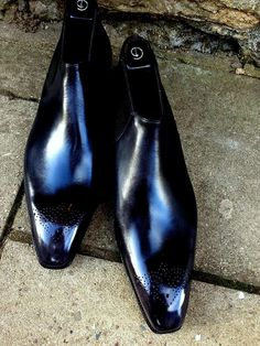 Gaziano & Girling Fairbank II Bespoke Mens Fine Handmade Shoes - 12 Savile Row - London, England