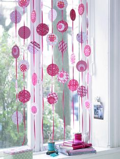 Zu hause dekoration and deko on pinterest for Kinderzimmer fensterdeko
