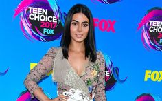 Download wallpapers Camila Mendes, Teen Choice Awards, 2017, Hollywood, american actress, beauty, brunette