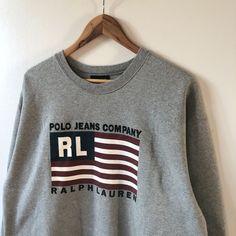 $40 AUD + Free Shipping Ralph Lauren Sweatshirt, Polo Ralph Lauren, Retro Sweatshirts, Adidas Retro, Tommy Hilfiger Sweatshirt, Paris T Shirt, Polo Jeans, Gianni Versace, Nike Sportswear