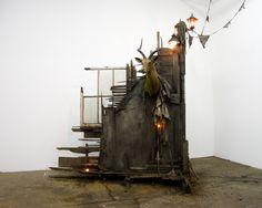 Drew Conrad. Dwelling No. 3, 2012, 9 x 8 x 3 feet