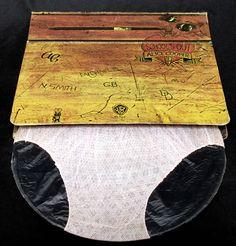 Alice Cooper School's Out Vinyl LP with panties.
