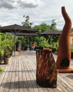 Dachterrasse @ NALA Innsbruck, Super, Austria, Pergola, Outdoor Structures, Travel, Rooftop Terrace, Bathing, Tips