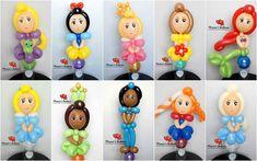 Balloon Sword, Balloon Hat, Balloon Crafts, Love Balloon, Balloon Flowers, Balloon Animals, Princess Balloons, Disney Balloons, Balloon Columns