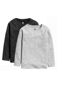 long-sleeved T-shirts - Black - Kids Boys Clothes Online, Latest T Shirt, Black Kids, Summer Kids, Summer Wardrobe, Organic Cotton, Baby Boy, Sweatshirts, Long Sleeve