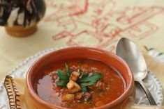 Supa de chimen Thai Red Curry, Ethnic Recipes, Soups, Celery, Hama, Red Peppers, Soup, Chowder