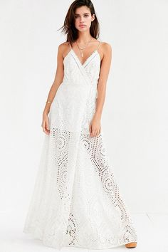 The Jetset Diaries Santa Fe Eyelet Maxi Dress on ShopStyle