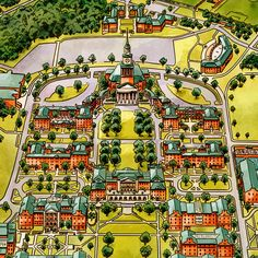 Alcorn State University Campus Map.77 Best Campus And Other Maps Images Maps Blue Prints Cards