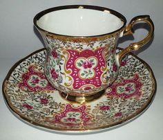 Vintage Tea Cup with Plate Brand Elizabethan Fine Bone China England Beautiful Peice via Etsy