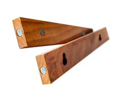 """SnapHang - brilliantly easy wall mounting - Walnut 12"""" ($42.00) - Svpply"""