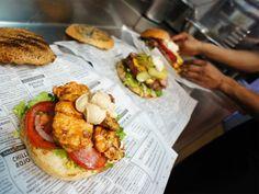 Kiosko Burger brand identity