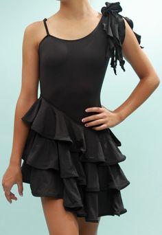 Sweet Chili Dance, Kids' Ballroom Dancing Supplies - Maddie - Asymmetric Junior Girls' Dancesport Latin ballroom dress, $159.00 (http://www.sweetchilidance.com/maddie-asymmetric-junior-dancesport-latin-ballroom-dress/)