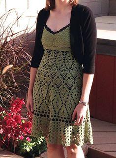 Lovely Lace Dress Pattern