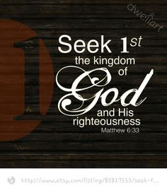 WHO DO YOU SEEK FIRST?    If you enjoyed this message please visit 1st Fruits Ministries LLC FACEBOOK HOME PAGE and click LIKE for daily inspiration (click on link)  https://m.facebook.com/1stFruitsMinistriesLLC For more info go to www.1stfruitsministriesllc.com