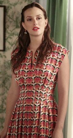 "Gossip Girl Style & Fashion: Leighton Meester, as Blair Waldorf wore a Lyn Devon Ella dress on Gossip Girl episode ""Where the Vile Things Are"""