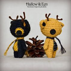 Hallow & Een - Original Handmade Reindeer/Collectable/Gift/Charm